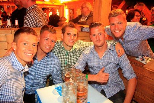 Stuttgarter Kickers auf dem Wasen