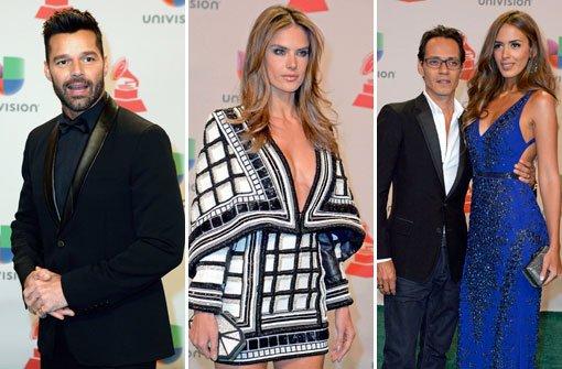 Ricky Martin und Alessandra Ambrosio feiern