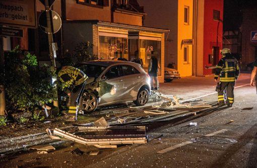 Unfall nach Ausweichmanöver – Fahrerin war betrunken