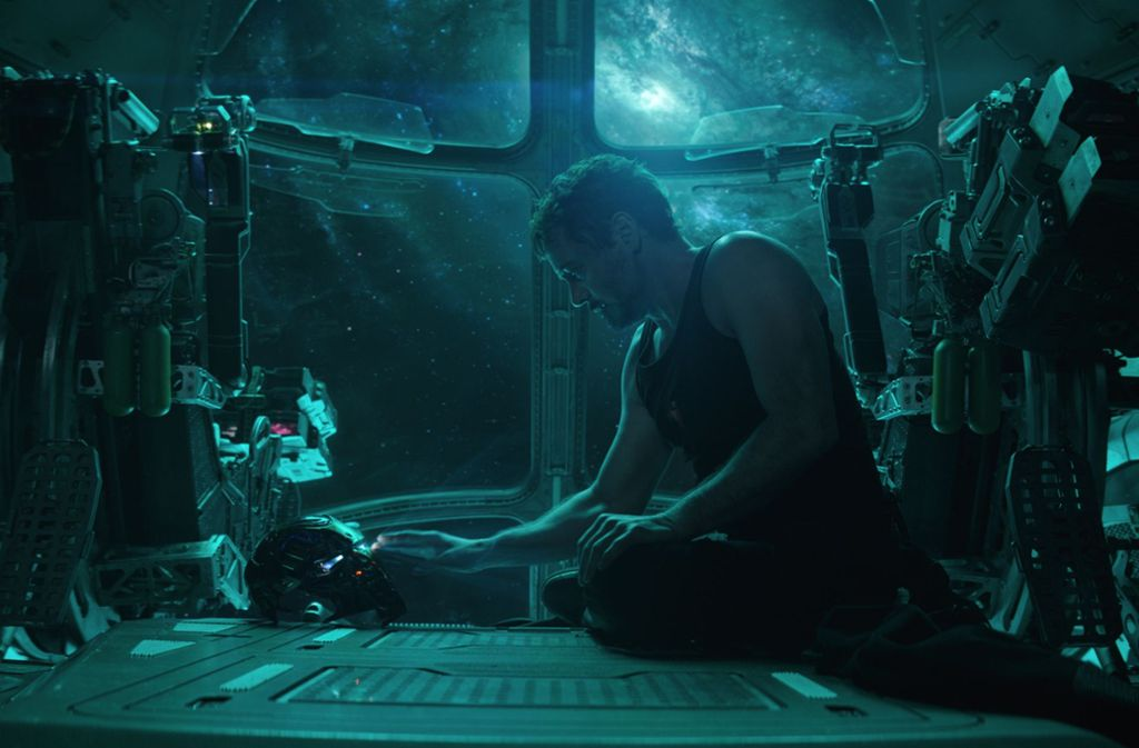 "Der Technik-Genius Tony Stark alias Iron Man (Robert Downey jr.) leidet unter starker Hybris – auch im finalen Film   ""Avengers: Endgame"" Foto: Verleih"
