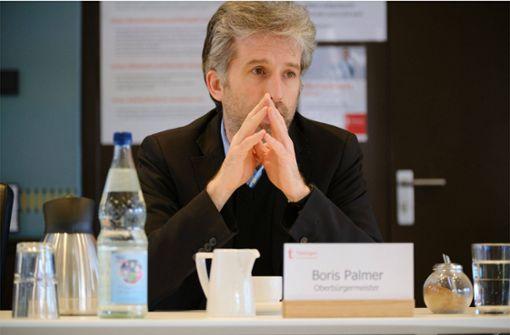 Gemeinderat will sich von Boris Palmer distanzieren