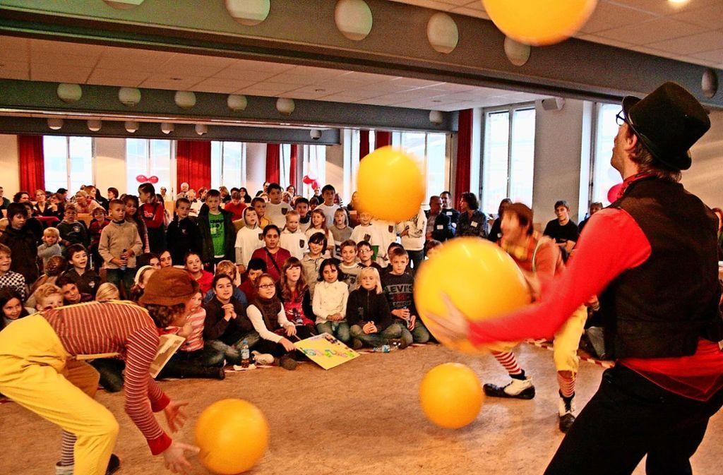 Beim letzten  Kinderforum im Jahr 2010 wurde  unter anderem ein Aktionstag in der Bürgerhausetage veranstaltet. Foto: Archiv Georg Friedel