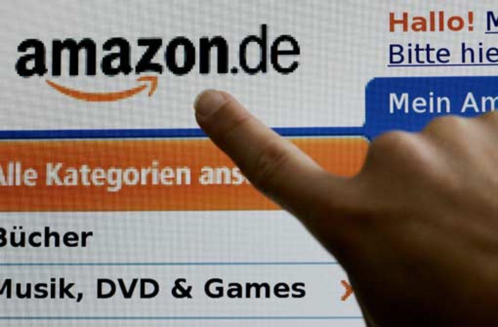 Starker konkurrent auf dem Buchmarkt: Amazon Foto: dpa