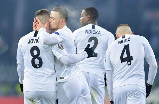 Eintracht Frankfurt darf weiter auf Achtelfinale hoffen