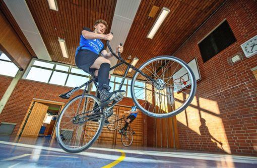 Radfahren in anderer Dimension
