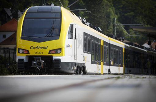 Neue Go-Ahead-Züge für  Remsbahn sind startbereit