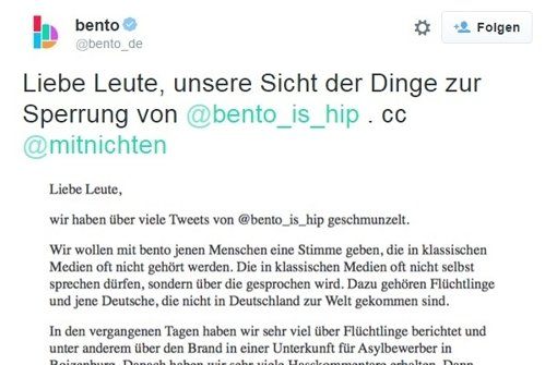 """Spiegel Online""-Portal lässt Satireaccount sperren"