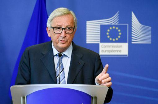 """Juncker: """"Wir dürfen nicht den Populisten nachlaufen"""""""