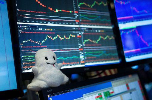 Snapchat-Mutter legt guten Start an der Wall Street hin