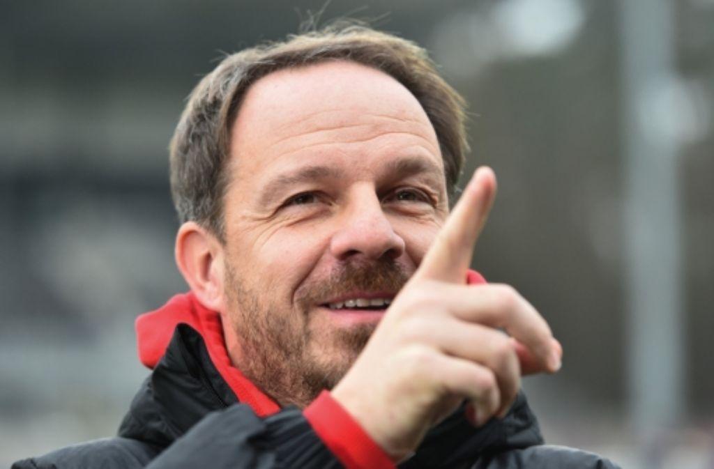Alexander Zorniger gilt als Wunschtrainer des VfB. Seine Karriere beleuchten wir in der folgenden Bilderstrecke. Foto: dpa