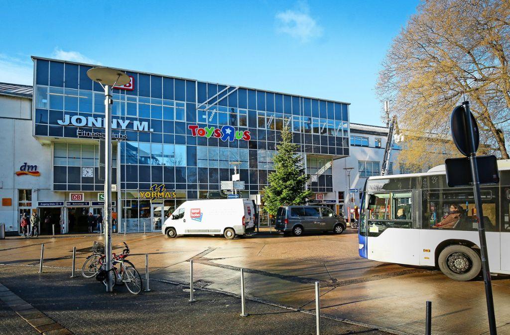 Das Hauptgebäude des Ludwigsburger Bahnhofs. Foto: factum/Granville