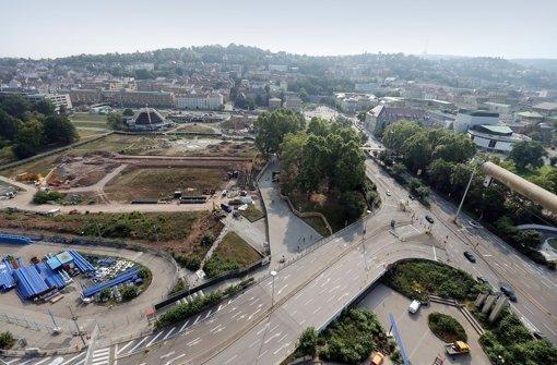 Bis zu 6,8 Millionen  Kubikmeter Grundwasser und damit mehr als doppelt so viel wie geplant müssen beim Bau des Tiefbahnhofs möglicherweise umgewälzt werden. Foto: Achim Zweygarth