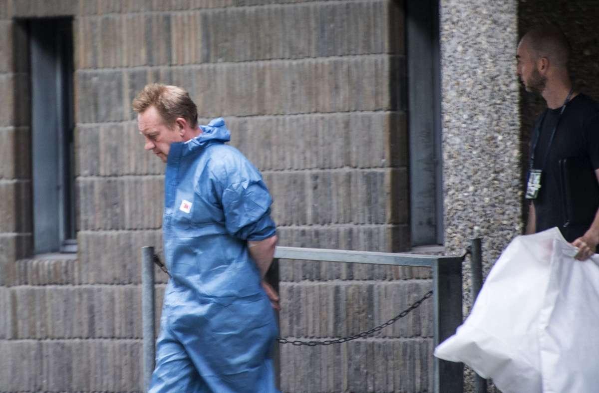 Während des gesamten Verfahrens hatte Peter Madsen die Tat bestritten, nun die Wende. Foto: dpa/Meyer Kenneth