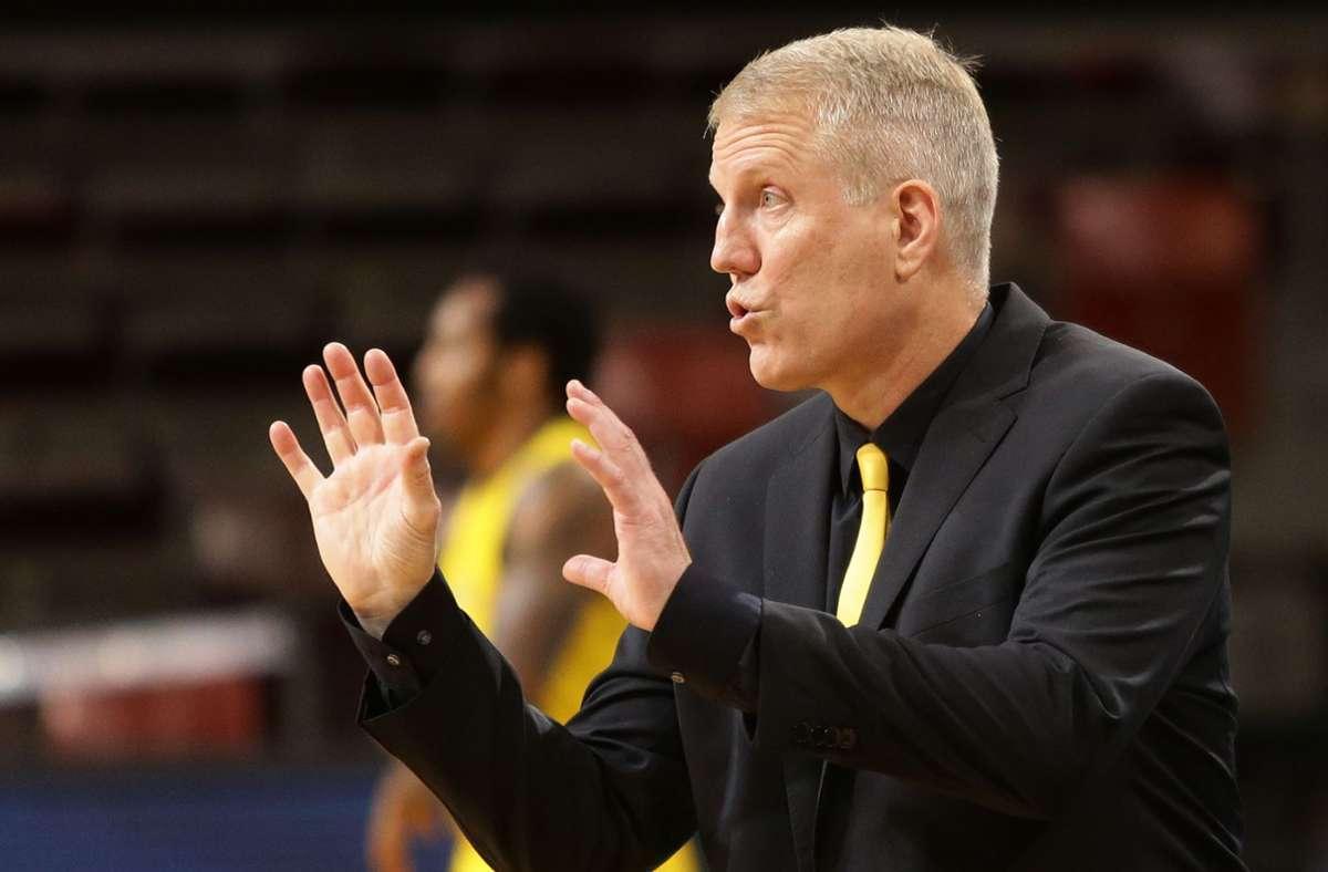 Will immer das Maximum: Ludwigsburgs Basketballtrainer John Patrick. Foto: Baumann