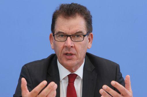 Minister Müller will drei Milliarden mehr für die Dritte Welt