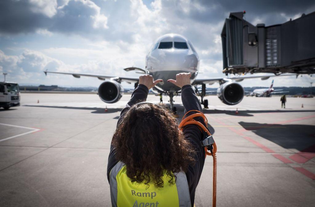 Am Flughafen Stuttgart war 2018 viel Betrieb – und 2019 gibt es bisher wieder Wachstum. Foto: Lichtgut/Achim Zweygarth
