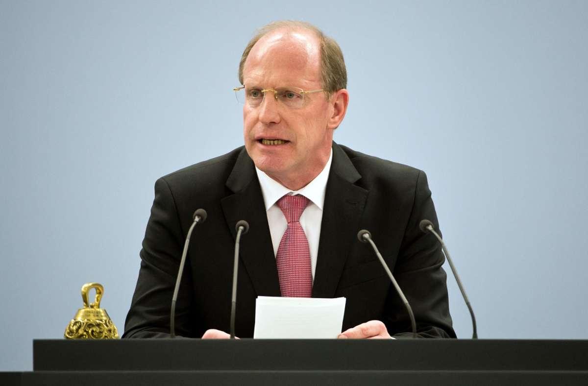 Wilfried Klenk soll es für Innenminister Thomas Strobl noch mal richten. Foto: dpa/Daniel Naupold