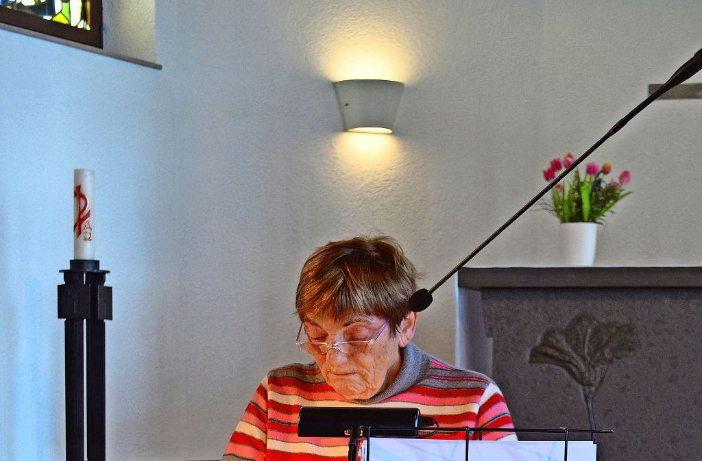 Lisa Ruhnau ist eine von rund 60 Lesern, die an der Aktion teilnahmen Foto: Wiebke Wetschera
