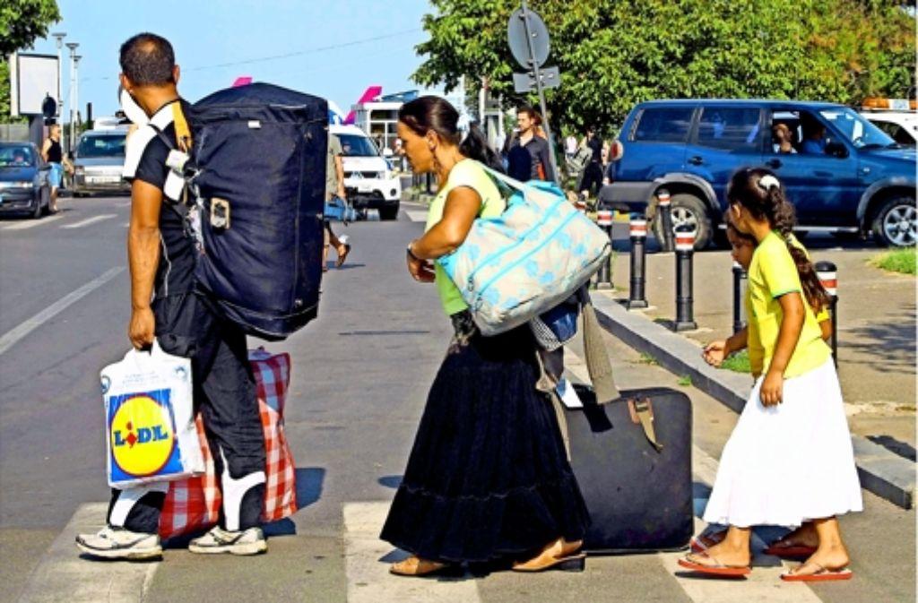 Seit  Januar gilt die Arbeitnehmerfreizügigkeit auch für Rumänen und Bulgaren. Seither wandern erheblich mehr Bürger aus diesen Ländern ein als vorher. Foto: epa