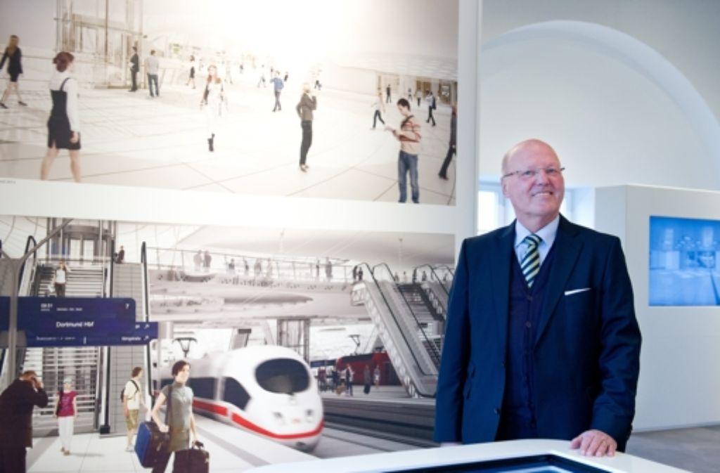 Der S-21-Vereinsvorsitzende Georg Brunnhuber will die Kommunikation verbessern. Foto: dpa