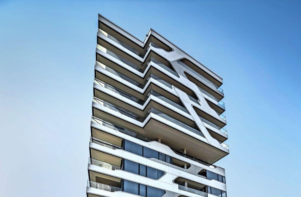 Das Cloud No. 7: Luxus wie hier gab es in Stuttgart bisher nicht. Foto: Lichtgut/Julian Rettig