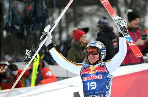 Deutscher Skirennfahrer Thomas Dreßen schreibt Geschichte