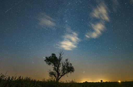 Nebel erschwert die Sternschnuppen-Sichtung