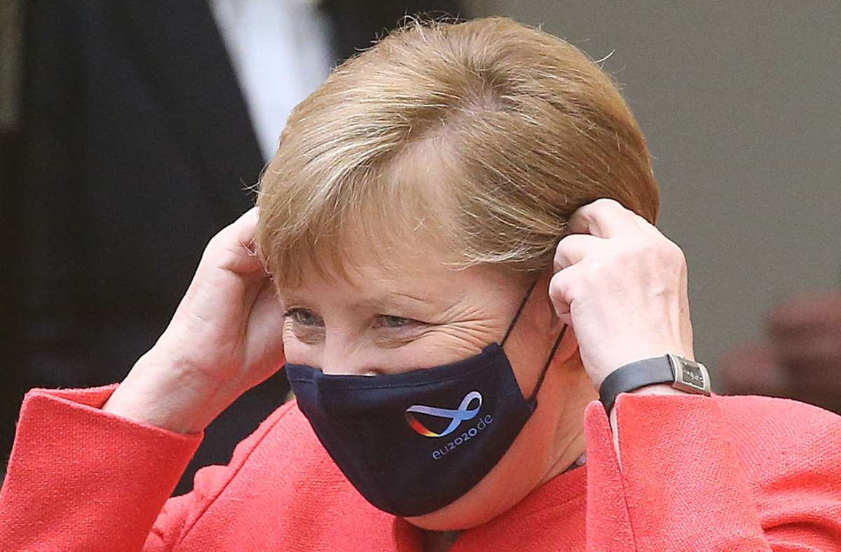 Kanzlerin Angela Merkel weill über lokale Ausreiseverbote diskutieren. Foto: dpa/Wolfgang Kumm