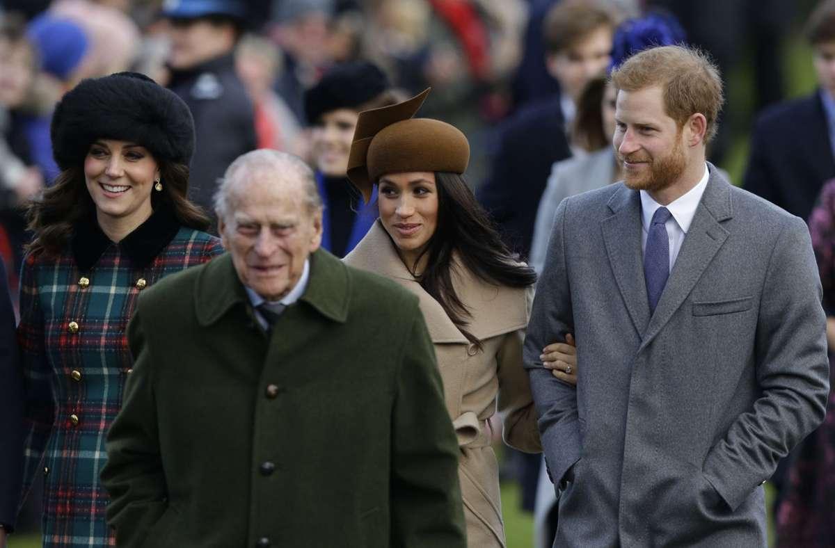 Der britische Prinz Harry hat seinen kürzlich gestorbenen Großvater Prinz Philip gewürdigt. Foto: dpa/Alastair Grant