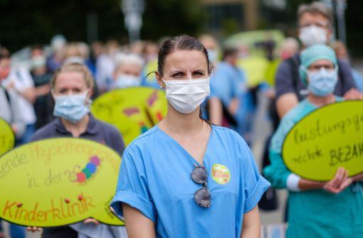 Corona-Frust in Kliniken befeuert die Tarifrunde