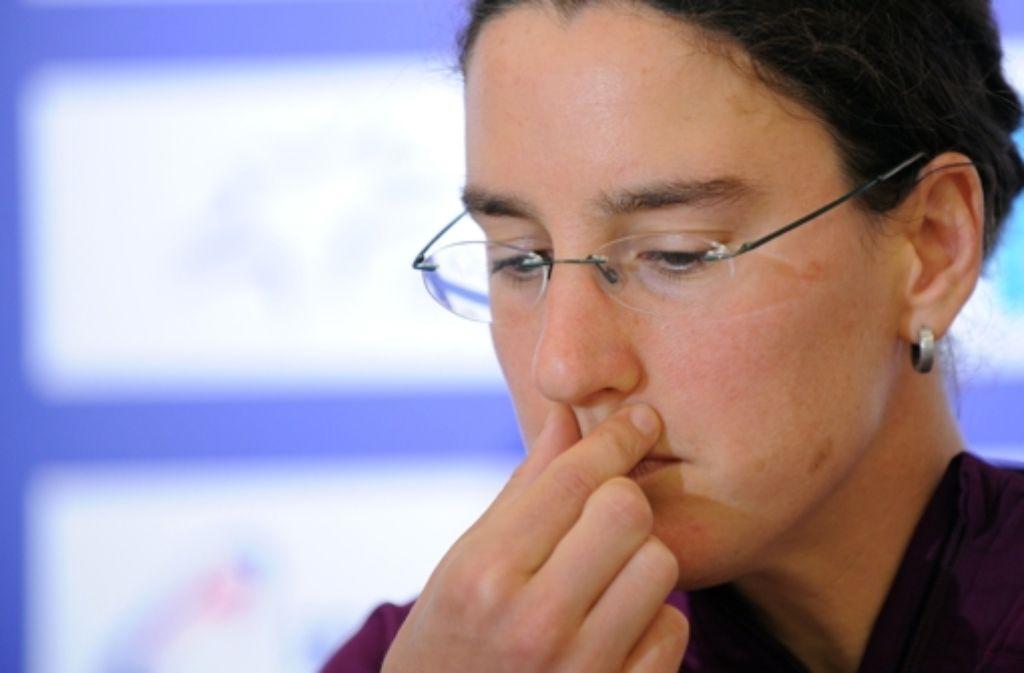 Die Rekord-Nationalspielerin hat in Hoffenheim nochmal ausgeholfen. Foto: dpa