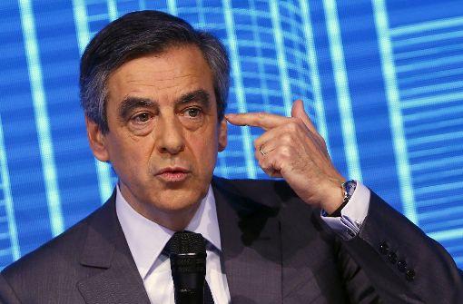 Finanzstaatsanwälte bringen Ermittlungen gegen Fillon voran
