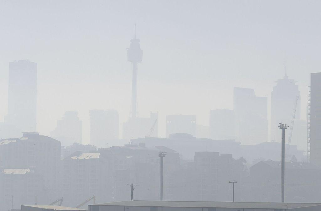 Auch in Sydney wird die Lage zunehmend bedrohlich. Foto: AP/Rick Rycroft