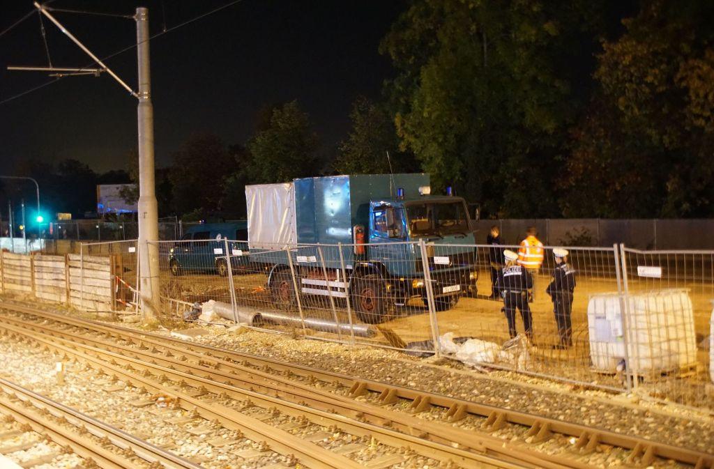In Stuttgart ist eine alte Fliegerbombe gefunden worden. Foto: SDMG