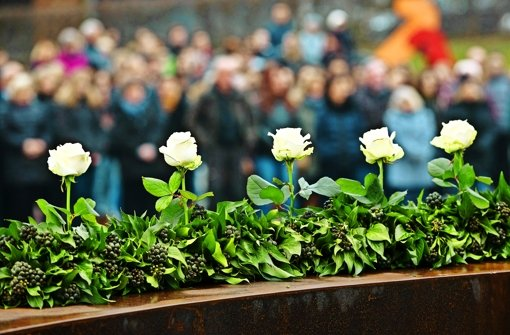 Gedenken an Opfer der Gewalt