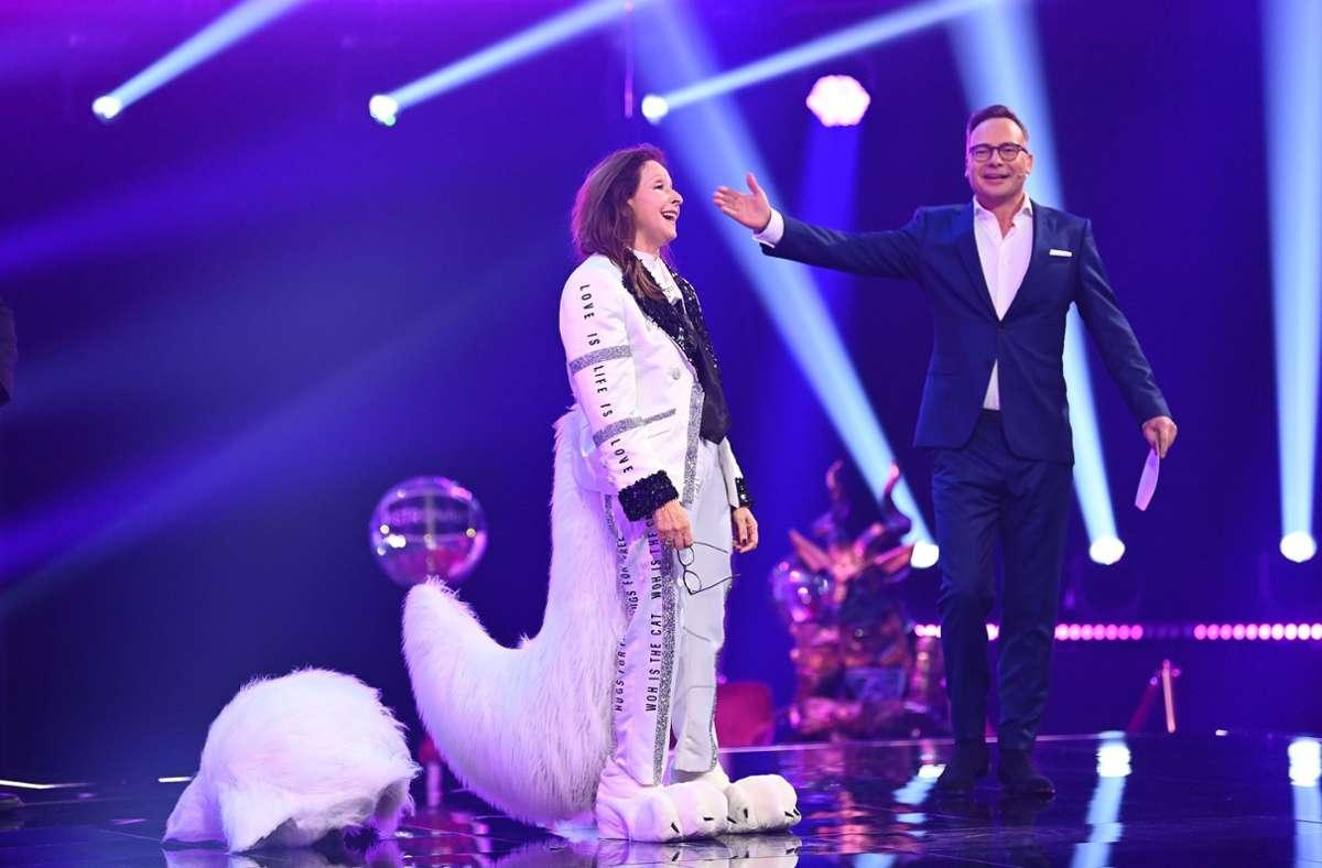 "Vicky Leandros wurde bei ""The Masked Singer"" enttarnt. Foto: dpa/Willi Weber"
