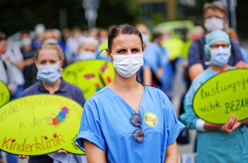 Protest gegen Landespflegekammer wirkt