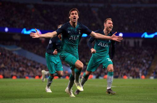 Drama in Manchester: City scheidet gegen Tottenham aus