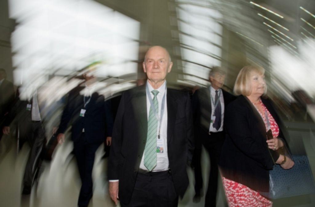 Volkswagen steht vor großen Weichenstellungen. Bleibt Ferdinand Piëch Eigner? Foto: dpa