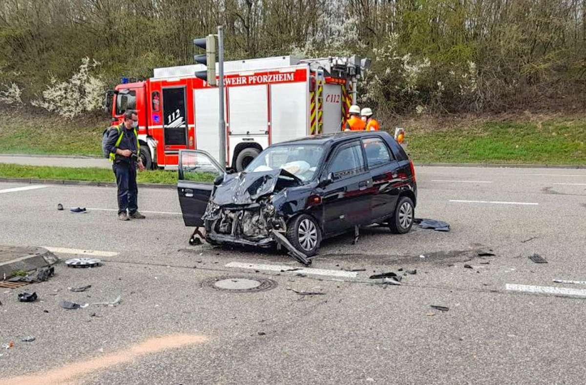 Bei dem Unfall kam die 77-jährige Beifahrerin in dem Auto ums Leben. Foto: dpa/---