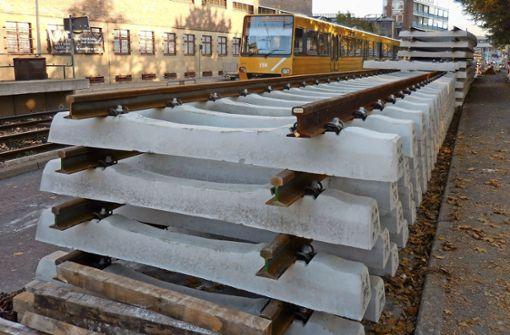 Stadtbahnverkehr ab Mittwoch unterbrochen