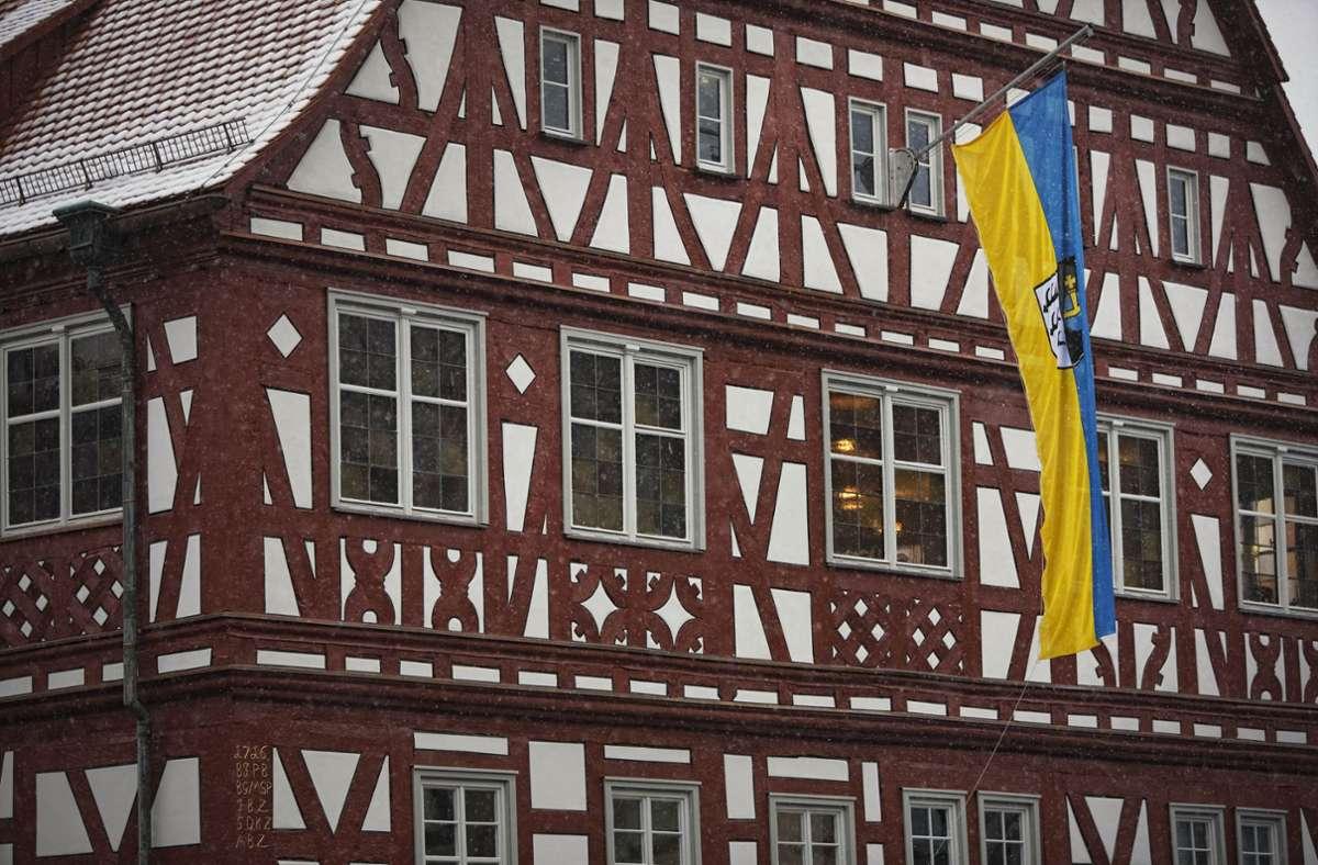 Wer wird neuer Chef im Backnanger Rathaus? Die Kandidaten präsentieren sich ab Freitagabend im Internet. Foto: Gottfried Stoppel