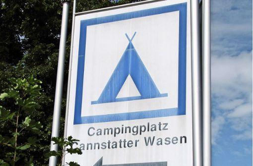 Tote Hose auf dem Campingplatz