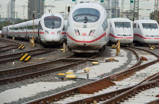 Die Milliardenhilfen für die Bahn sind umstritten