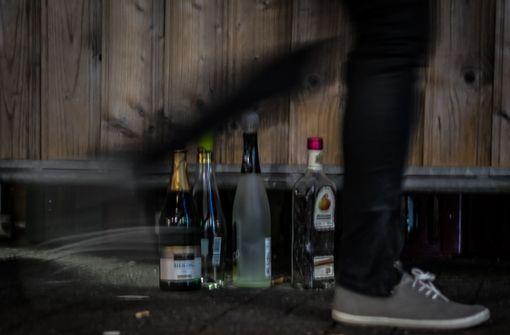 Wie viel trinkt die Jugend in der Region Stuttgart?