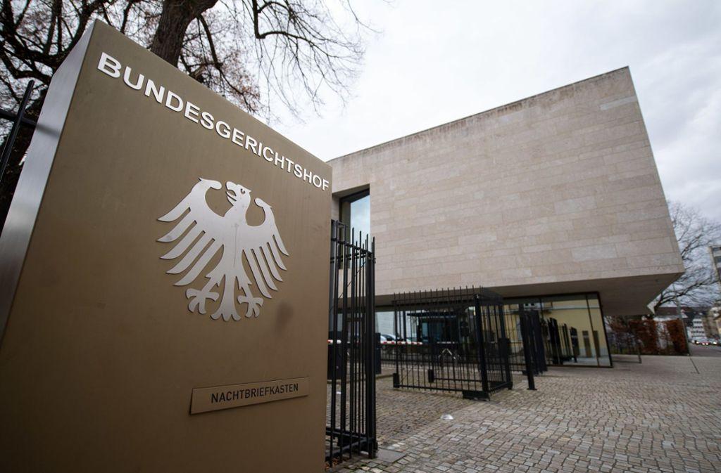 Der Bundesgerichtshof in Karlsruhe hat das Revisionsgesuch in weiten Teilen abgelehnt. Foto: dpa