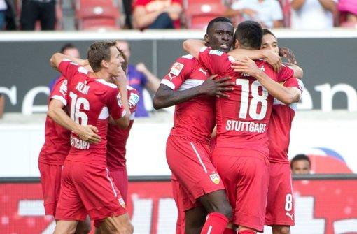 VfB Stuttgart feiert ersten Saisonsieg