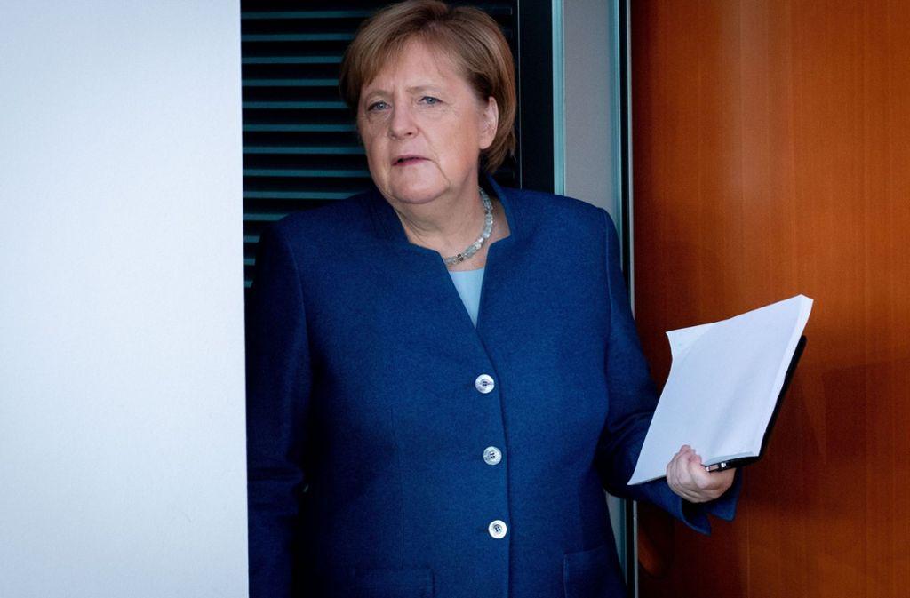 Zwei Wochen befand sich Kanzlerin Angela Merkel in Quarantäne. Foto: dpa/Kay Nietfeld