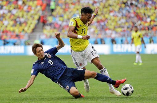 Bundesliga-Profis treffen bei Japans 2:1-Sieg gegen Kolumbien