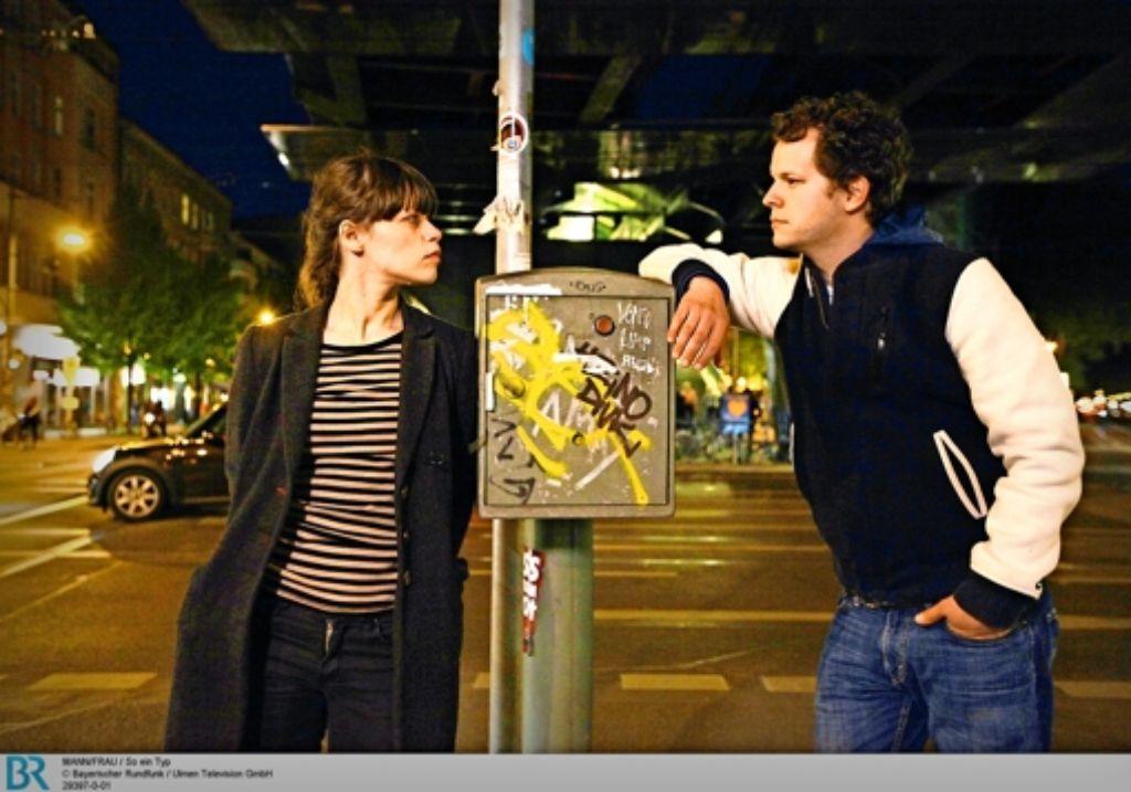 Lore Richter und Mirko Lang  verkörpern  zwei Singles in Berlin. Foto: BR
